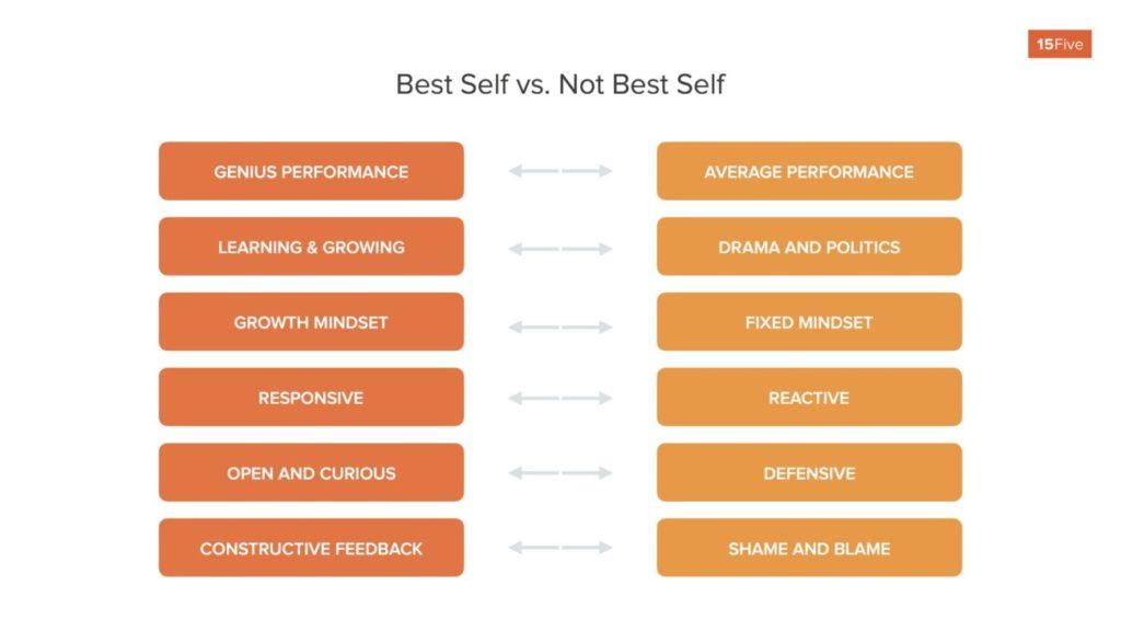 best self vs not best self